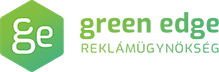 Green Edge reklámügynökség Logo